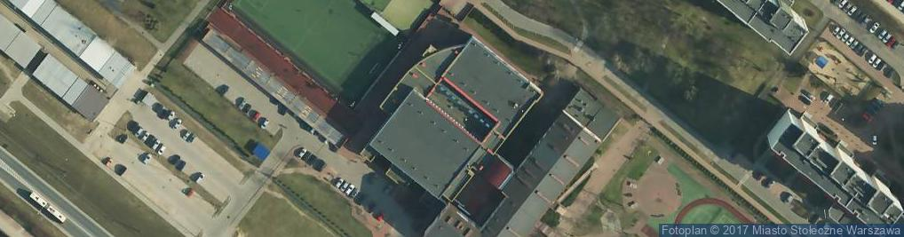 Zdjęcie satelitarne Erazma z Zakroczymia ul.