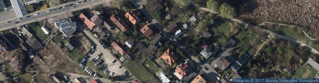 Zdjęcie satelitarne Europejska ul.
