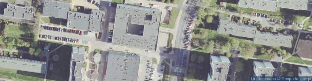 Zdjęcie satelitarne Galileusza ul.