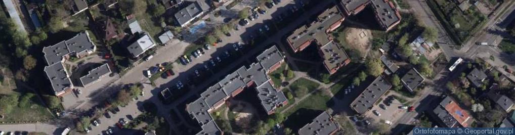 Zdjęcie satelitarne Gersona Wojciecha ul.