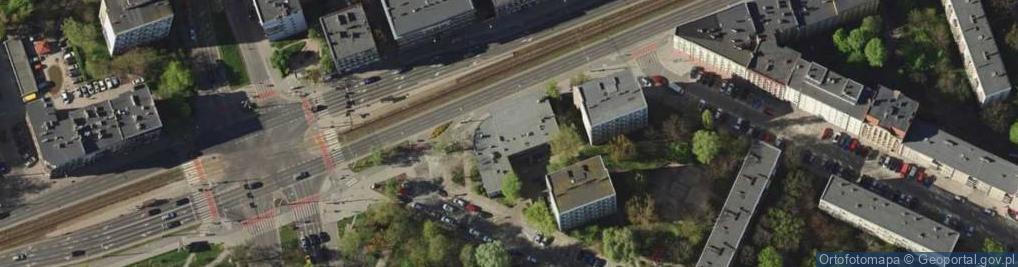 Zdjęcie satelitarne Grabiszyńska ul.