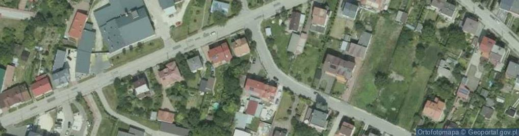 Zdjęcie satelitarne Hołdu Pruskiego ul.