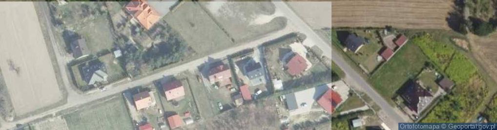 Zdjęcie satelitarne Jana Rożka ul.