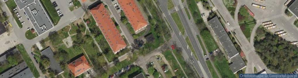 Zdjęcie satelitarne Kamieńskiego Henryka Michała ul.