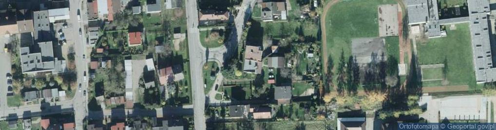 Zdjęcie satelitarne Kleparz ul.