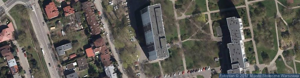 Zdjęcie satelitarne Klaudyny ul.