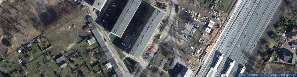 Zdjęcie satelitarne Kolejowa ul.
