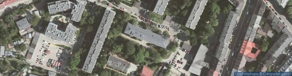 Zdjęcie satelitarne Kutrzeby Tadeusza, gen. ul.