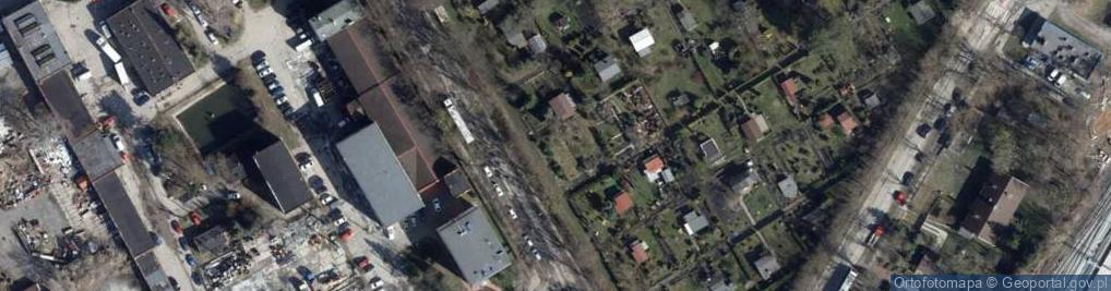Zdjęcie satelitarne Kuropatwińskiej Stefanii ul.