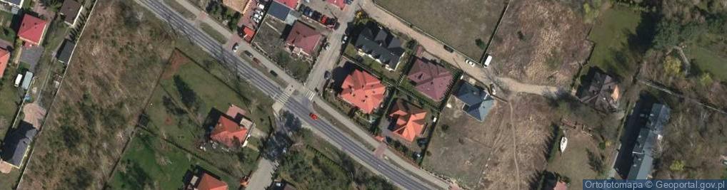 Zdjęcie satelitarne Legionowa ul.