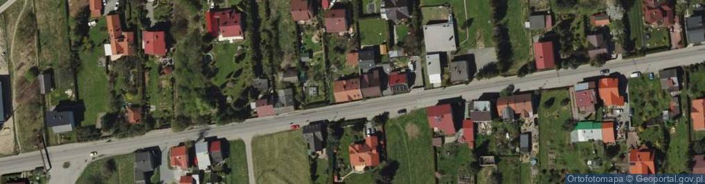 Zdjęcie satelitarne Leśnianka ul.