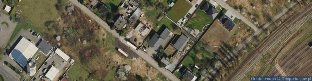 Zdjęcie satelitarne Łosiowa ul.