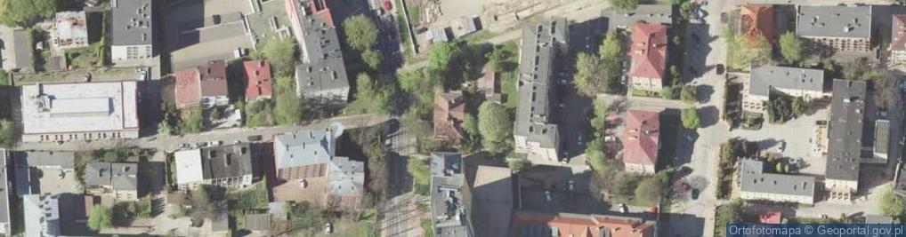 Zdjęcie satelitarne Lubomelska ul.