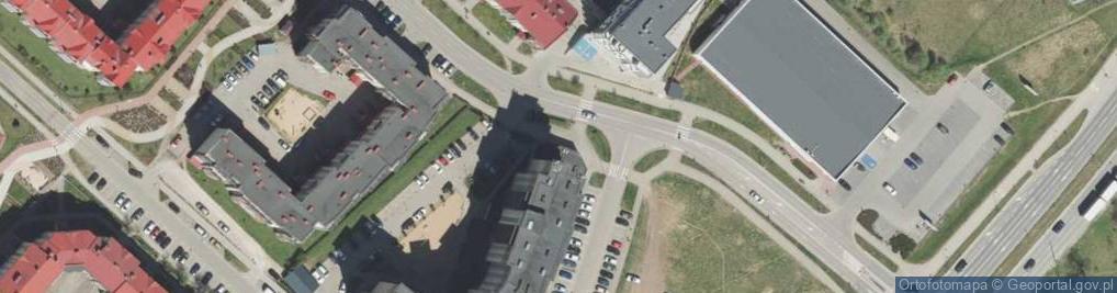 Zdjęcie satelitarne Matki Teresy z Kalkuty ul.