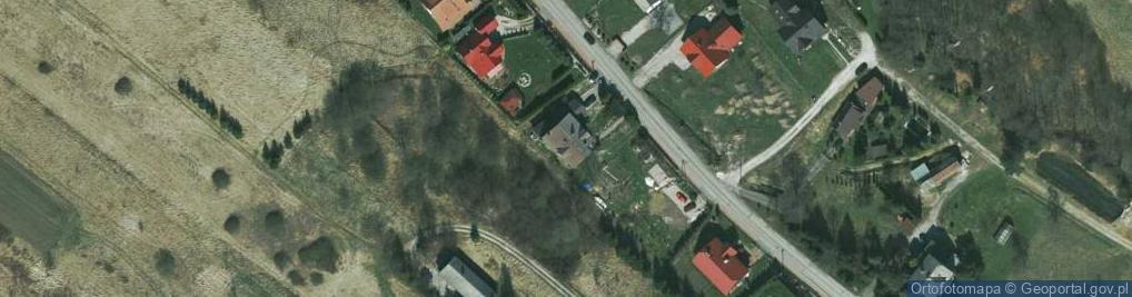 Zdjęcie satelitarne Miękińska ul.