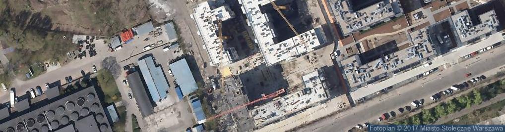 Zdjęcie satelitarne Mińska ul.