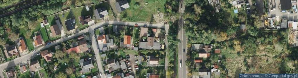 Zdjęcie satelitarne Mikulczycka ul.