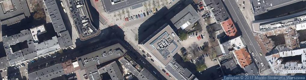 Zdjęcie satelitarne Mysia ul.