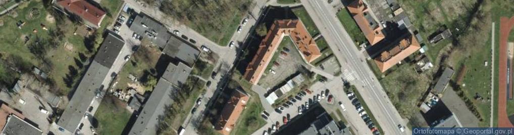 Zdjęcie satelitarne Nowowiejskiego ul.