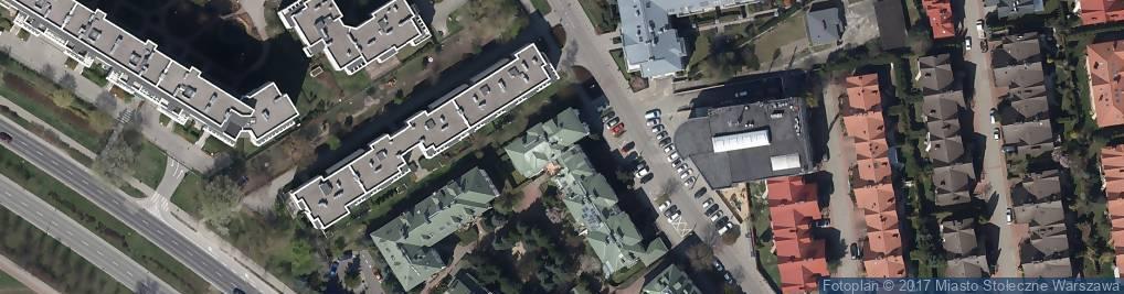 Zdjęcie satelitarne Nowoursynowska ul.