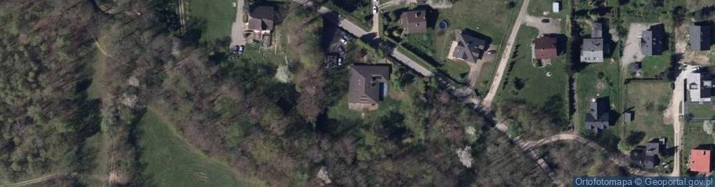 Zdjęcie satelitarne Odrzańska ul.