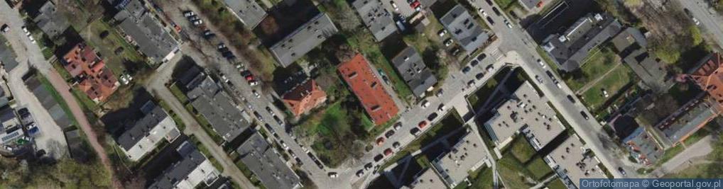 Zdjęcie satelitarne Okrzei Stefana ul.