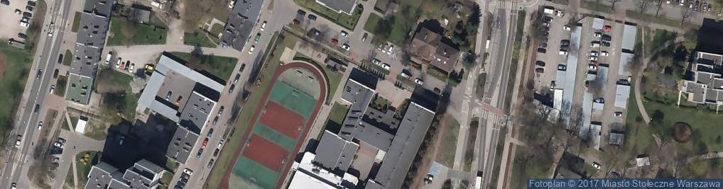 Zdjęcie satelitarne Olgierda ul.