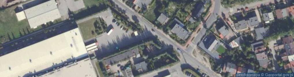 Zdjęcie satelitarne Olszynowa ul.