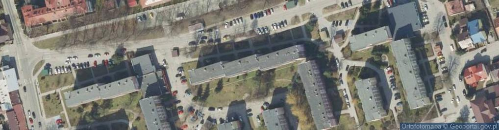 Zdjęcie satelitarne Osiedle Pułaskiego Kazimierza, gen. os.