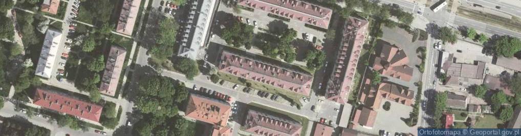 Zdjęcie satelitarne Osiedle Młodości os.