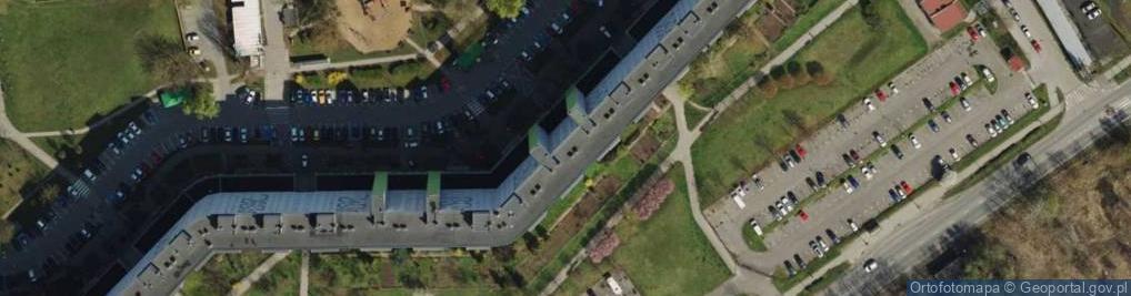 Zdjęcie satelitarne Osiedle Orła Białego os.
