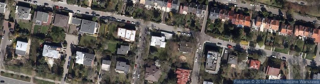 Zdjęcie satelitarne Oszczepników ul.