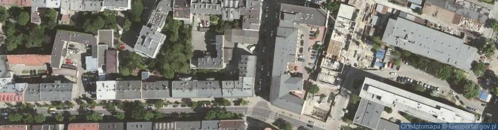 Zdjęcie satelitarne Pędzichów ul.