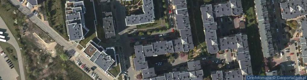 Zdjęcie satelitarne Pelikanów ul.