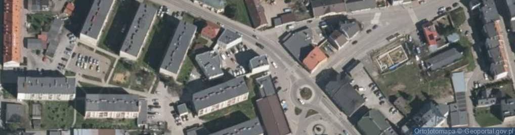 Zdjęcie satelitarne Plac 1 Maja pl.