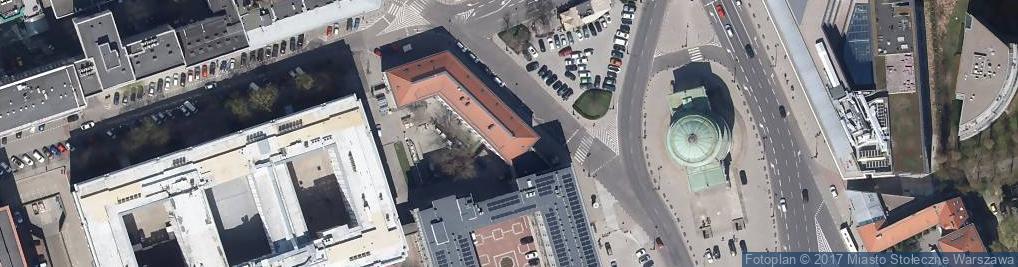 Zdjęcie satelitarne Plac Trzech Krzyży pl.