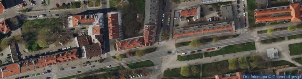 Zdjęcie satelitarne Podwale Staromiejskie ul.