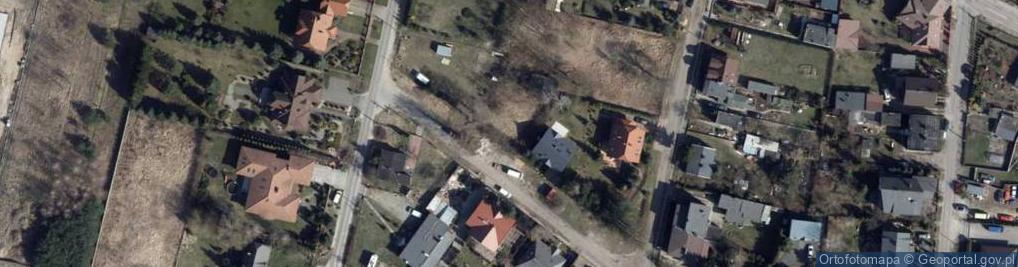Zdjęcie satelitarne Poselska ul.
