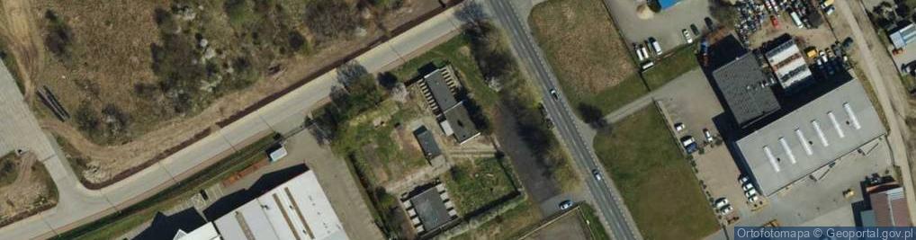 Zdjęcie satelitarne Portowa ul.