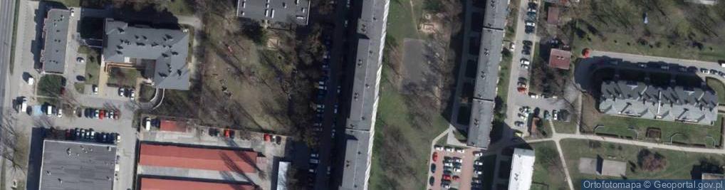 Zdjęcie satelitarne Przełajowa ul.
