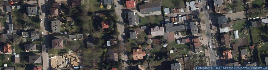 Zdjęcie satelitarne Prawnicza ul.