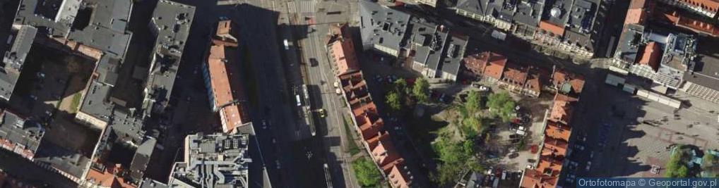 Zdjęcie satelitarne Psie Budy ul.