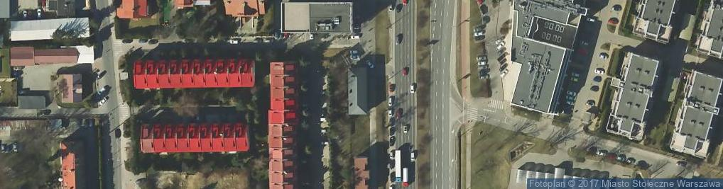Zdjęcie satelitarne Puławska ul.