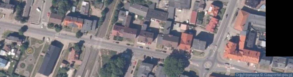 Zdjęcie satelitarne Ruta Stanisława, ks. ul.