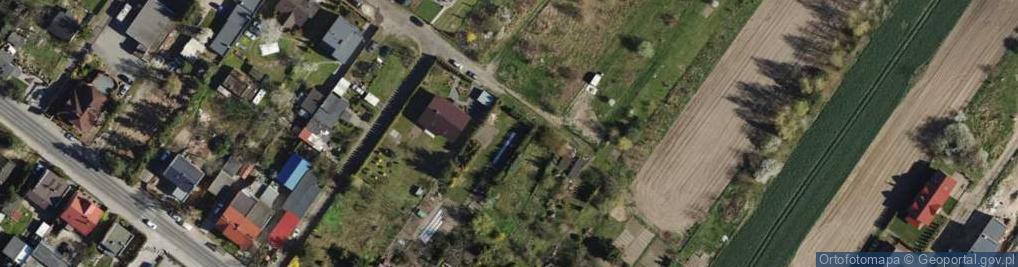 Zdjęcie satelitarne Ruczajowa ul.