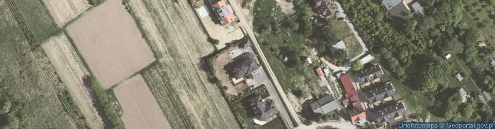 Zdjęcie satelitarne Salezjańska ul.