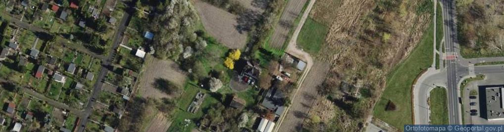 Zdjęcie satelitarne Samotna ul.