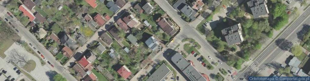 Zdjęcie satelitarne Siedleckiego Wacława ul.