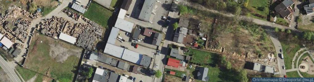 Zdjęcie satelitarne Siemianowicka ul.
