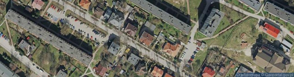 Zdjęcie satelitarne Słoneczna ul.